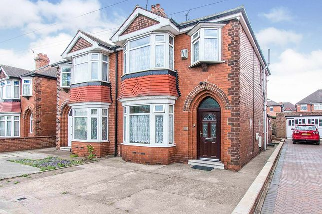 Thumbnail Semi-detached house for sale in Carr House Road, Doncaster