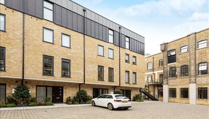 Thumbnail Town house to rent in Palace Wharf, Rainville Road, Fulham