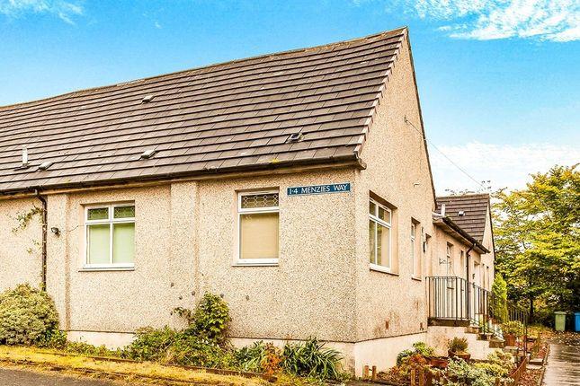 Thumbnail Bungalow for sale in Menzies Way, Slamannan, Falkirk