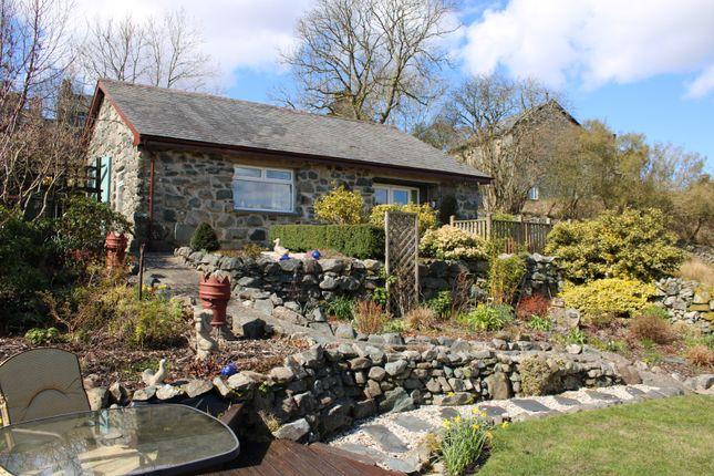 Thumbnail Bungalow for sale in Trawsfynydd, Blaenau Ffestiniog, Gwynedd