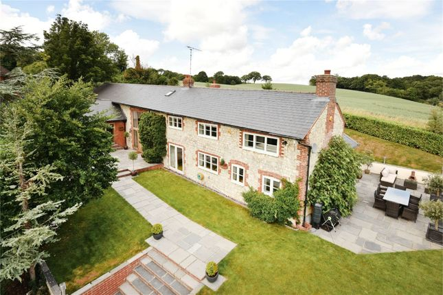 Thumbnail Detached house to rent in Crondall Lane, Dippenhall, Surrey