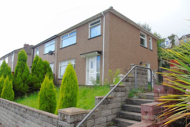 Thumbnail Semi-detached house for sale in Brynifor, Mountain Ash