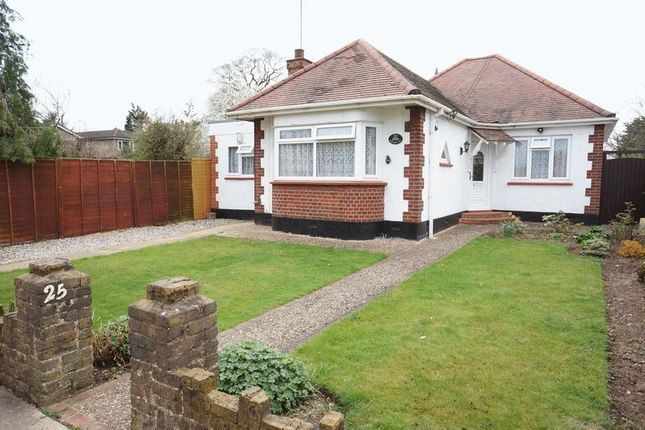 Thumbnail Bungalow for sale in Wycombe Avenue, Benfleet