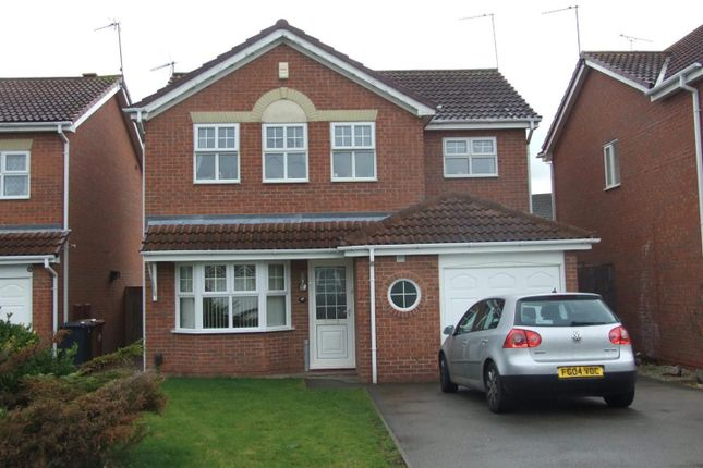 Thumbnail Detached house to rent in Willow Croft, Boulton Moor, Derby