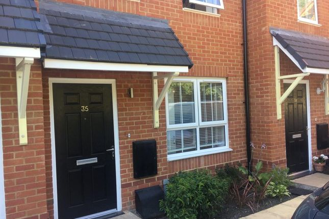 Thumbnail Terraced house for sale in Coppins Close, Christchurch Road, West Parley