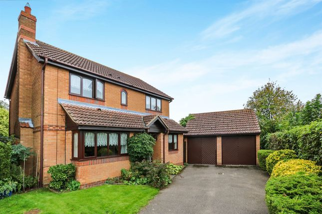 Thumbnail Detached house for sale in Worcester Way, Attleborough
