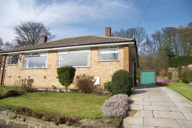 Thumbnail Semi-detached bungalow to rent in Emmott Drive, Rawdon, Leeds, West Yorkshire