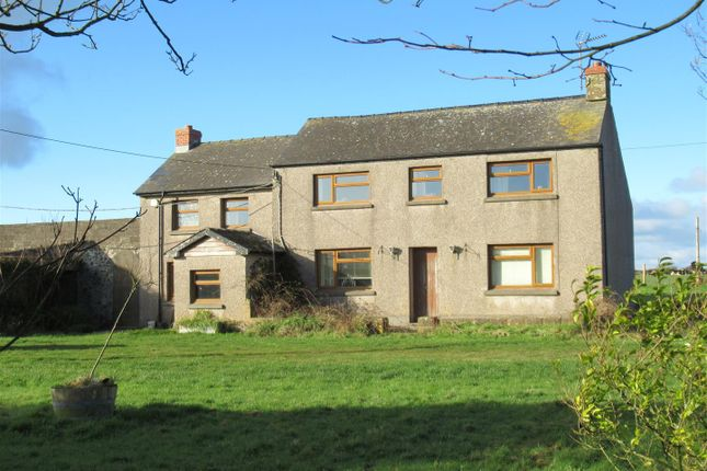 Thumbnail Country house for sale in Lower Carnhedryn, Solva, Haverfordwest