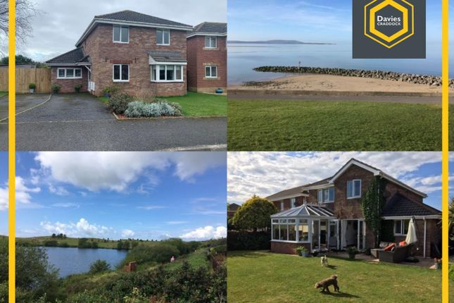 Thumbnail Detached house for sale in Sandpiper Road, Llanelli