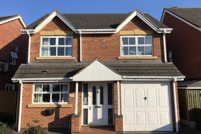 Thumbnail Detached house to rent in Pentland Gardens, Hereford