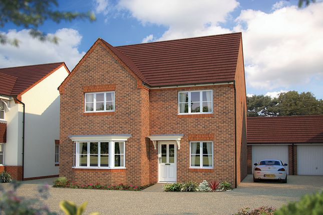 "Thumbnail Detached house for sale in ""The Oxford"" at Beancroft Road, Marston Moretaine, Bedford"