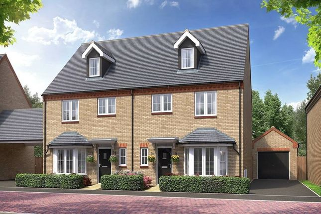 """Thumbnail Semi-detached house for sale in """"The Madeley - Semi Detached"""" at Kempton Close, Chesterton, Bicester"""
