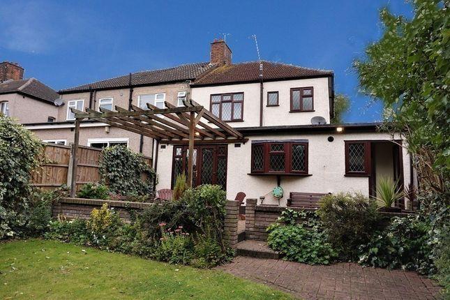 Thumbnail Semi-detached house for sale in Rosslyn Avenue, Romford