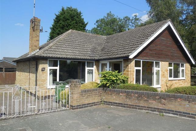 Thumbnail Detached bungalow for sale in Spa Drive, Sapcote, Leicester