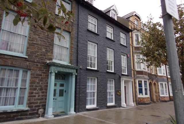 Thumbnail Shared accommodation to rent in Flat 2, 26 North Parade, Aberystwyth, Ceredigion