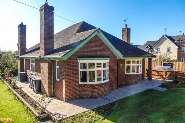 Thumbnail Detached bungalow for sale in Whitchurch Road, Aston, Nantwich