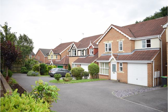 Thumbnail Detached house for sale in Rosedale Gardens, Sutton-In-Ashfield