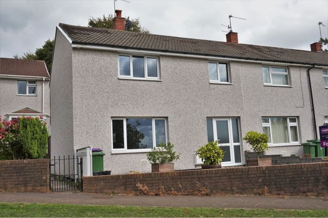 Thumbnail End terrace house for sale in Brynhyfryd, Cwmbran