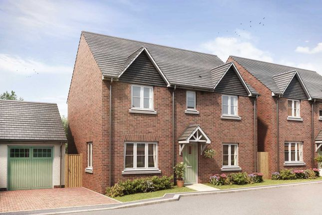 "Thumbnail Detached house for sale in ""The Leverton"" at Gipsy Hill Lane, Exeter"