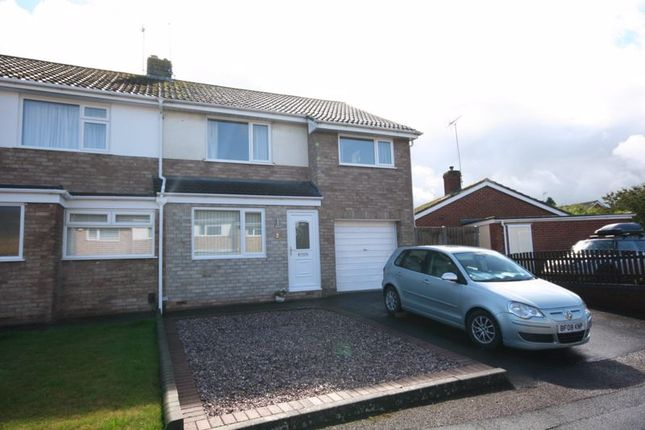 Thumbnail Semi-detached house for sale in Pinemount Road, Hucclecote, Gloucester