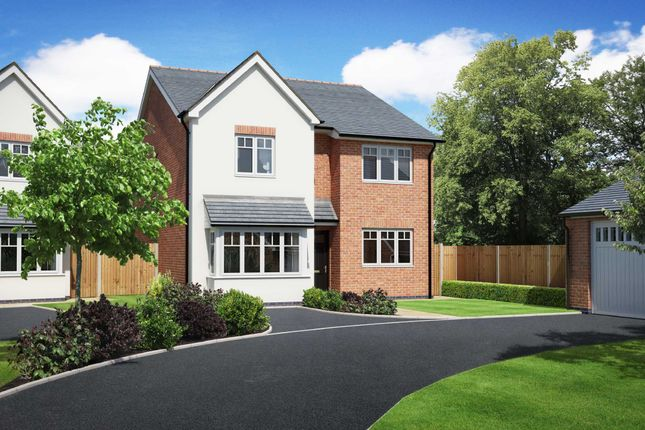 Thumbnail Detached house for sale in 3 Weavers Rise, Chirk Bank, Oswestry, Shropshire