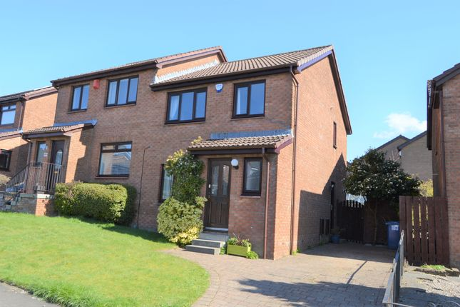 Thumbnail Semi-detached house for sale in Strathleven Drive, Alexandria, West Dunbartonshire