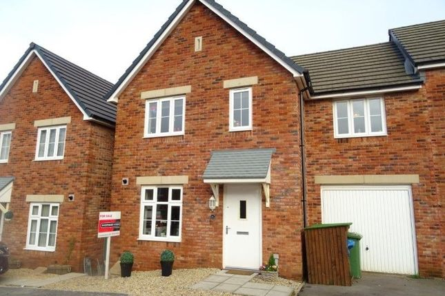 Thumbnail Semi-detached house for sale in Lon Yr Helyg, Coity, Bridgend