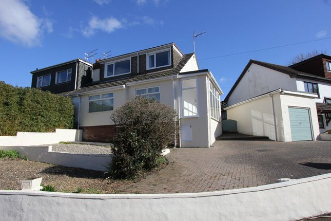 Thumbnail Semi-detached bungalow to rent in Nether Meadow, Marldon, Paignton