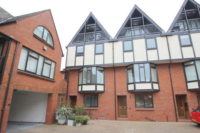 Thumbnail Town house for sale in Lysander Court, Ely Street, Stratford Upon Avon