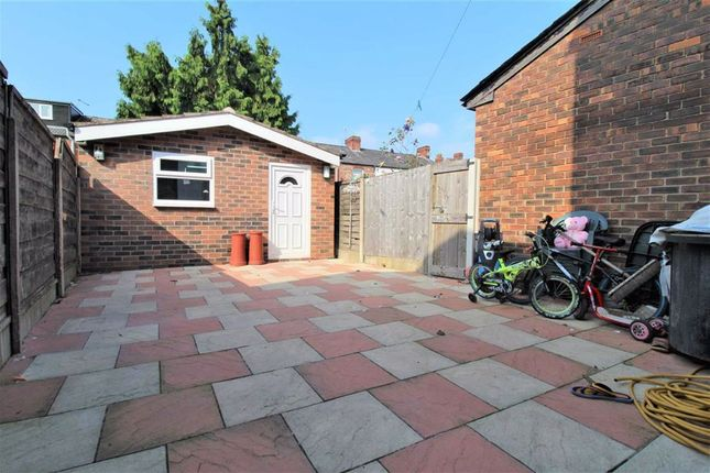Rear Yard of Fairbourne Road, Levenshulme, Manchester M19