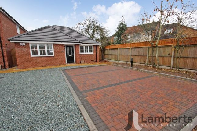 Detached bungalow for sale in Railway Close, Studley