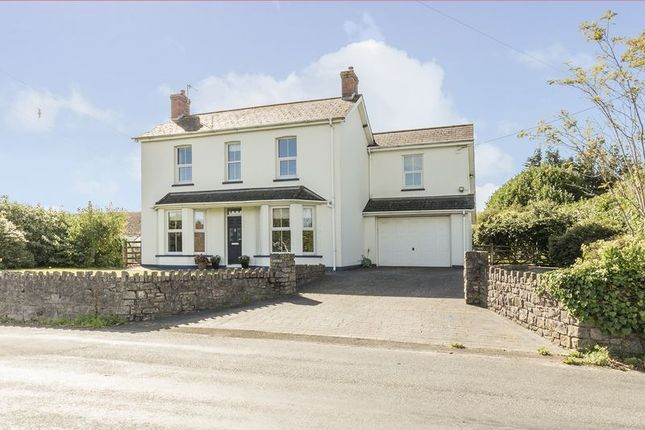 Thumbnail Detached house for sale in St. Brides Road, Magor, Caldicot
