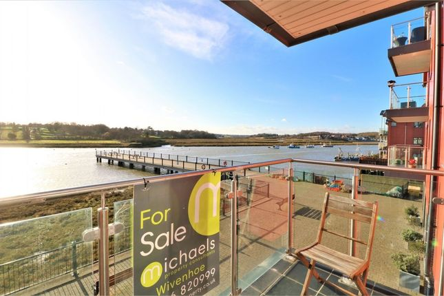 Thumbnail Flat for sale in Lord Nelson Court, Walter Radcliffe Road, Wivenhoe