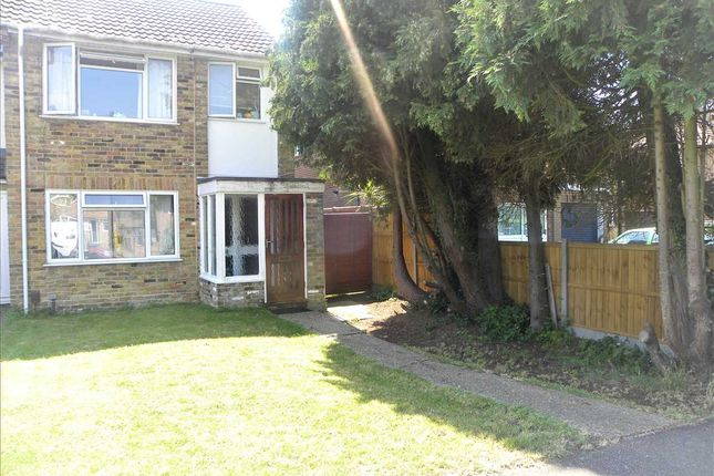 3 bed end terrace house for sale in Cherry Avenue, Langley, Slough SL3
