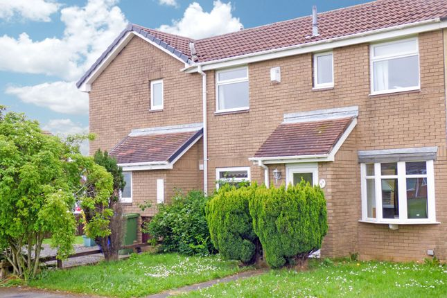 Thumbnail 2 bed terraced house for sale in Hayton Close, Cramlington
