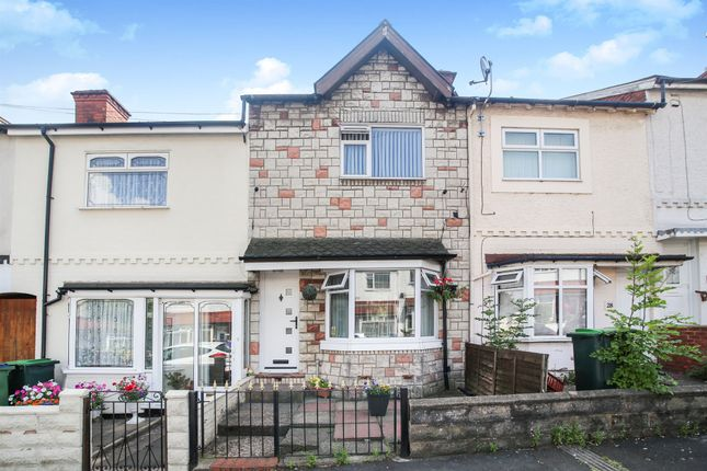 Thumbnail Terraced house for sale in Richmond Road, Bearwood, Smethwick