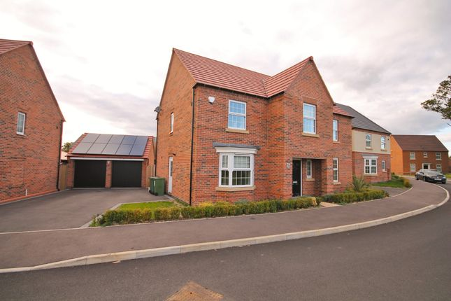 Thumbnail Detached house for sale in Forest House Lane, Leicester Forest East, Leicester