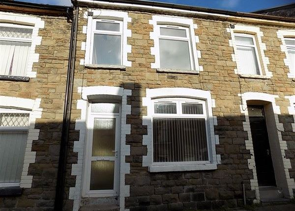 Thumbnail Terraced house to rent in Cross Street, Abertillery