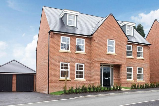 "Thumbnail Detached house for sale in ""Lichfield"" at Park View, Moulton, Northampton"