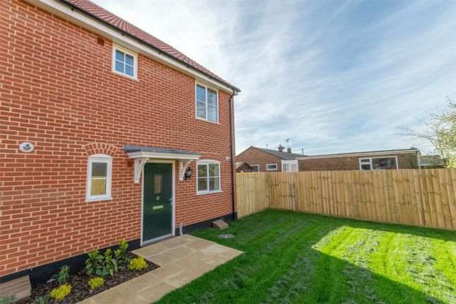Semi-detached house for sale in Tapping Close, Snettisham, King's Lynn