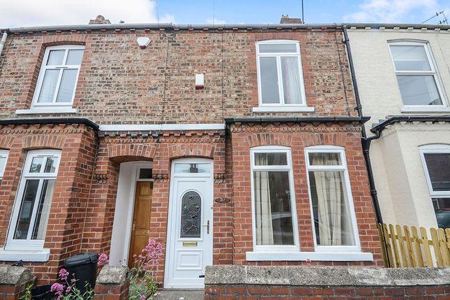 Thumbnail Terraced house to rent in Shipton Street, York