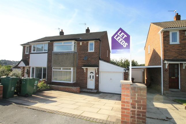 Thumbnail Semi-detached house to rent in Spring Valley Croft, Bramley, Leeds