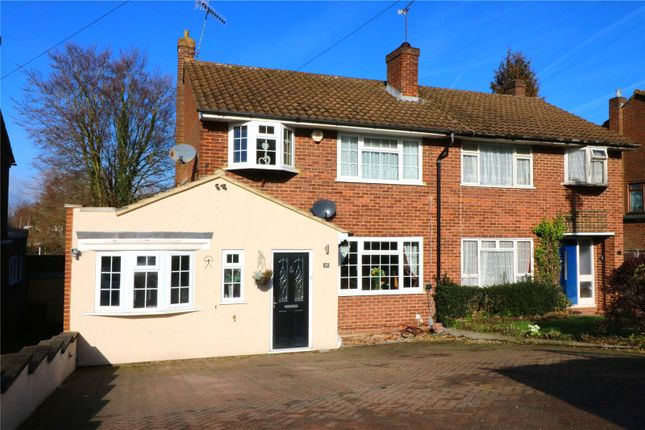Thumbnail Semi-detached house for sale in Manor House Gardens, Abbots Langley