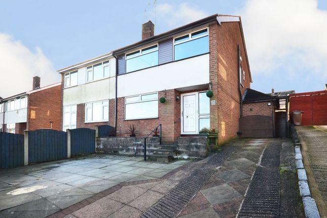 Thumbnail Semi-detached house for sale in Pemberton Drive, Meir Heath