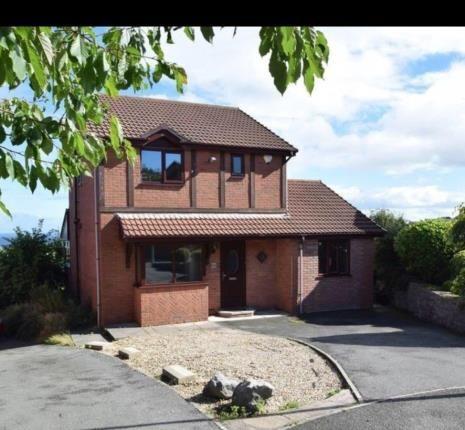 Thumbnail Detached house for sale in Parc Ffynnon, Llysfaen, Colwyn Bay, Conwy