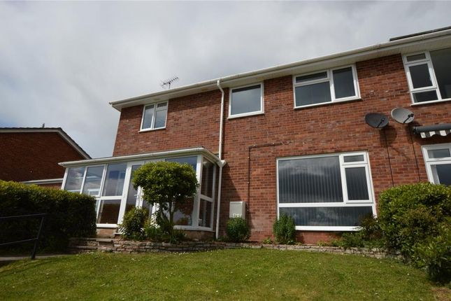Thumbnail Semi-detached house for sale in Alexandra Way, Crediton, Devon