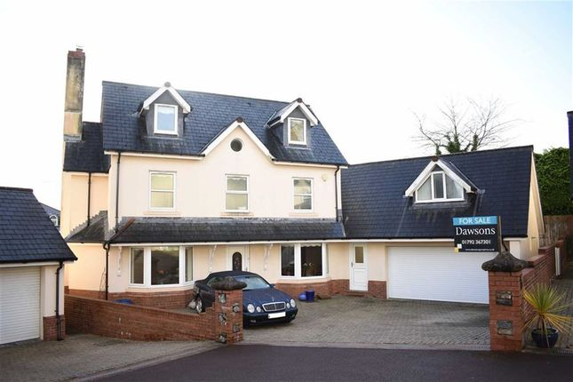 6 bed detached house for sale in Bethany Lane, West Cross, Swansea
