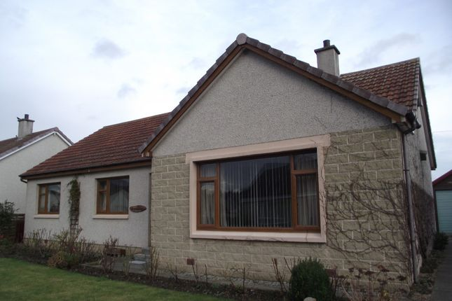 Thumbnail Bungalow to rent in Pinewood Road, Mosstodloch, Moray