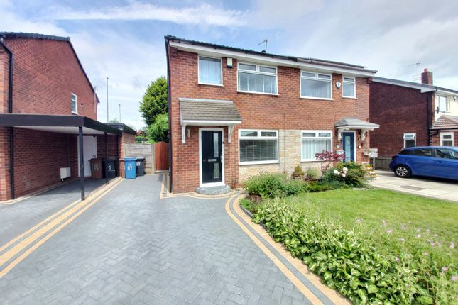 2 bed semi-detached house to rent in Lymefield Drive, Worsley M28
