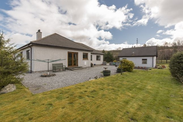 Thumbnail Detached house for sale in Garve, Highland
